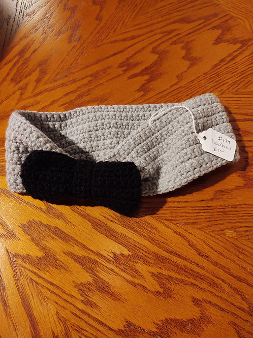 Crocheted Headband by Kathi Fehr