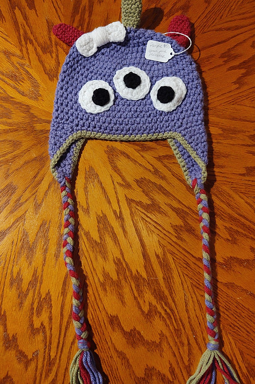 Children's Crocheted Hat by Kathi Fehr