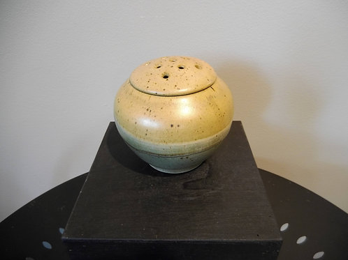 Lidded Vase by Ruben Ruiz