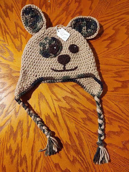 Children's Crocheted Hat by Kathi Fehr