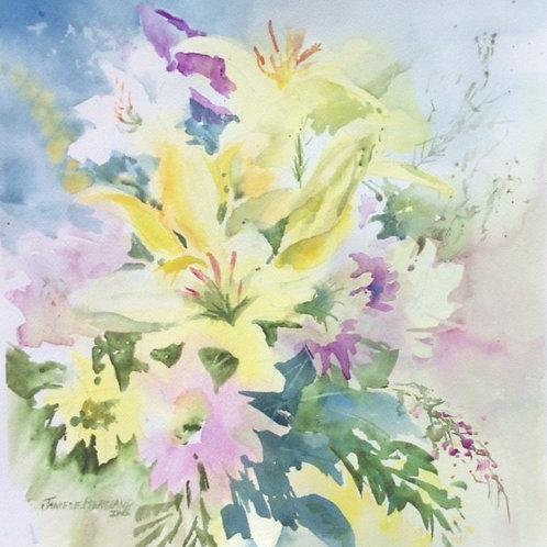 Fragrant Bouquet by Janiece Bergland