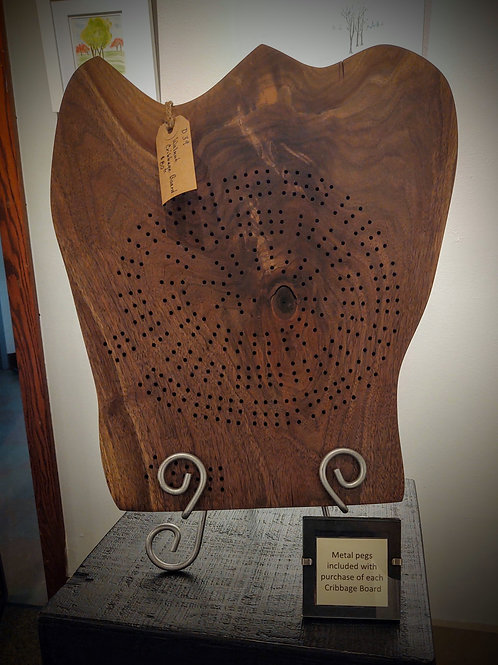 Cribbage Board by Bill Haywood