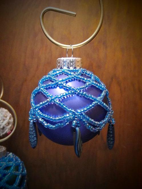 Beaded Ornament (Medium) by Anne Boerschel