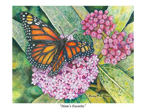 Mom's Favorite, Note Card by Bruce Litterer