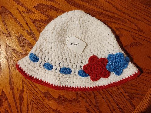 Children's Crocheted Sun Hat by Kathi Fehr