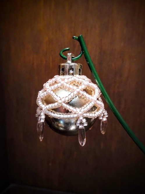 Beaded Ornament (Small) by Anne Boerschel