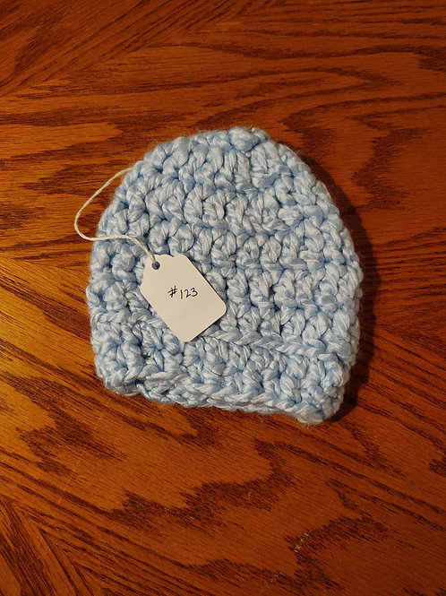 Infant (newborn) Crocheted Hat by Kathi Fehr