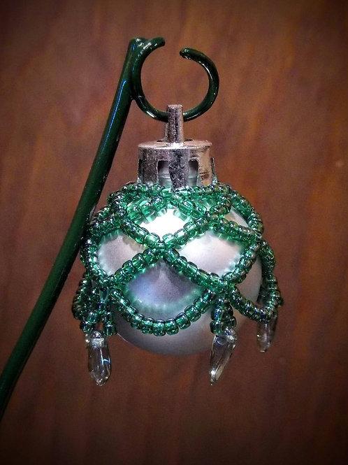 Beaded Ornament (Small) by Anne Boerschel