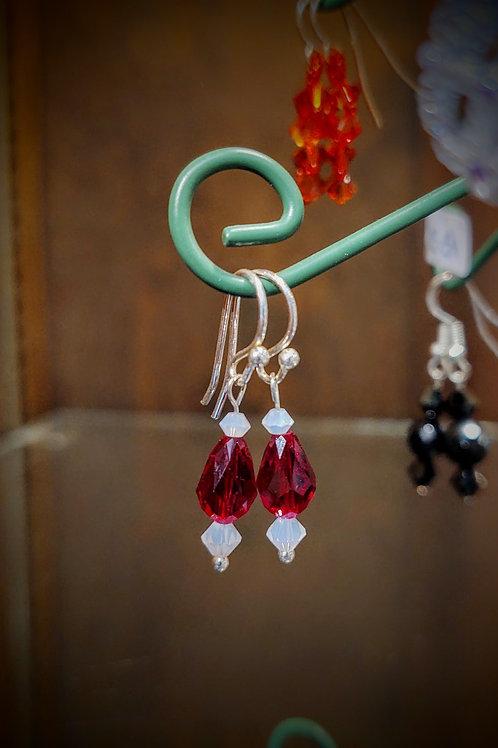 Earrings by Anne Boerschel
