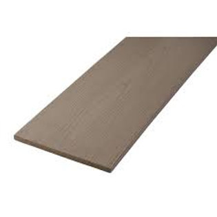 "1/2"" x 12"" x 12' Azek Slate Gray PVC rim board (fascia)"