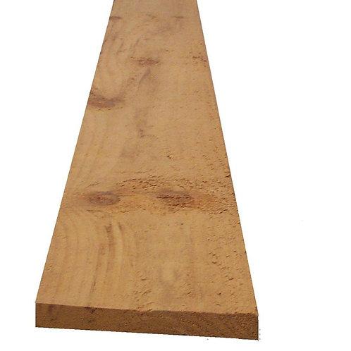 "1"" x 6"" Rough sawn pine/spruce"