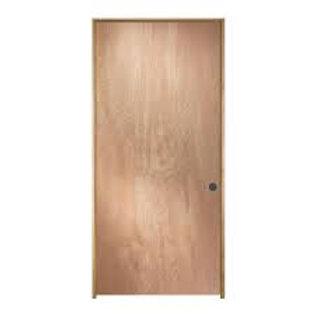 Birch HC flush pre-hung interior door