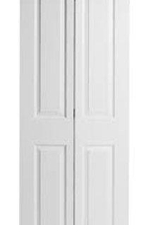 Carrara 2-panel HC interior bi-fold door