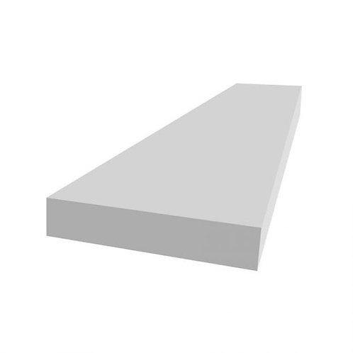 "5/4 x 4"" Azek PVC frontier board, white"
