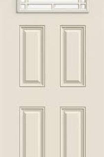 Thermatru Ts-704, 3/0 x 6/8 Camber top steel entry door
