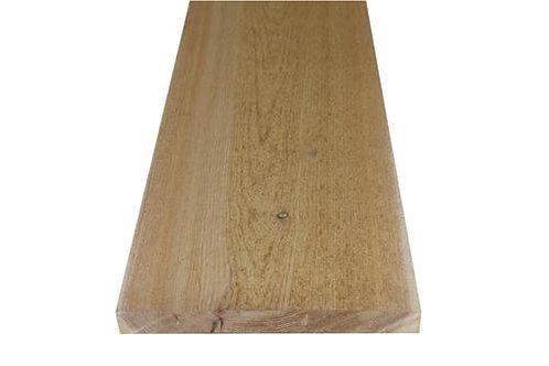 """1"""" x 12"""" Rough sawn premium red cedar"""