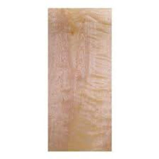 Birch HC flush door slab, no frame