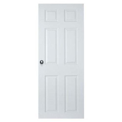 Colonial 6-panel HC pre-hung interior door, primed