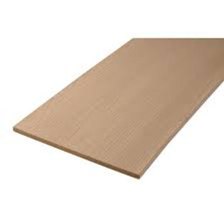 "1/2"" x 12"" x 12' Azek Brownstone PVC rim board (fascia)"