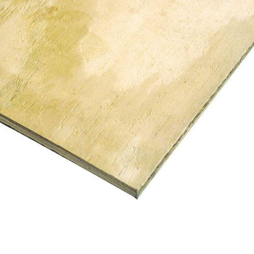 2' x 4' CDX Treated plywood