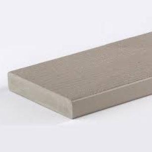 "5/4"" x 6"" Azek Slate Gray PVC square edge deck board"