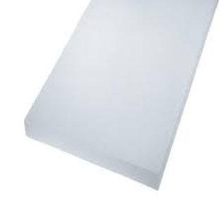 "5/4 x 8"" Azek PVC frontier board, white"