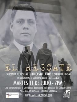 CINE U - EL RESCATE afiche
