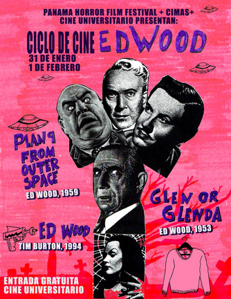 Ciclo de cine ED WOOD