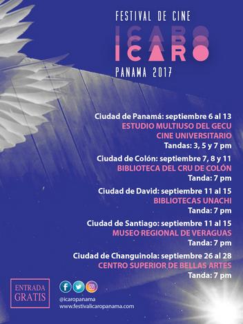 Se acerca el Festival de Cine, Ícaro Panamá
