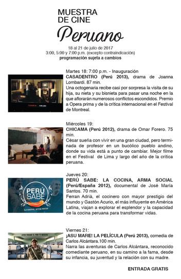 Muestra de Cine Peruano