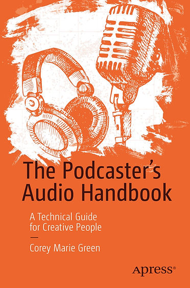 The Podcaster's Audio Handbook front cover