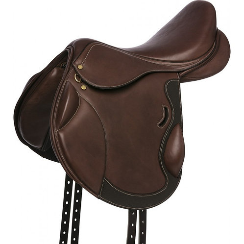 ERIC THOMAS FITTER Cross country saddle, lined leather