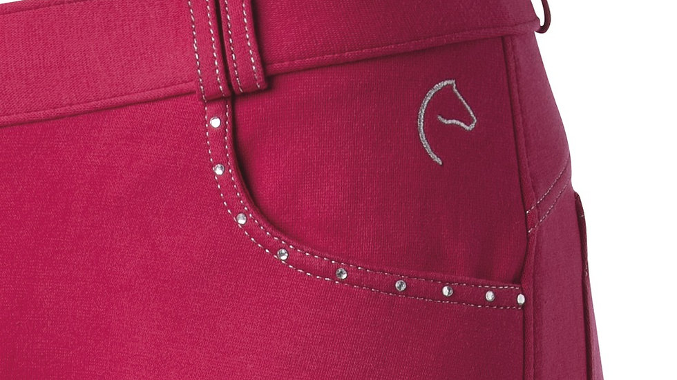 "EQUI-THÈME  Kids/Teens ""Diamond"" breeches"