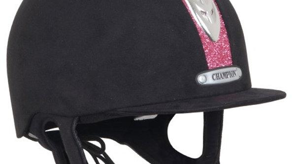 Champion Junior X-AIR Dazzle Plus Riding Hat