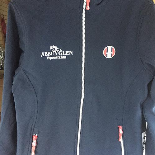 Abbeyglen logo -  EQUITHÈME Softshell jacket