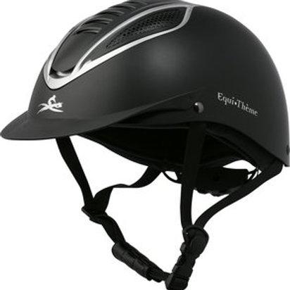 """EQUI-THÈME """"Chrome"""" helmet"""