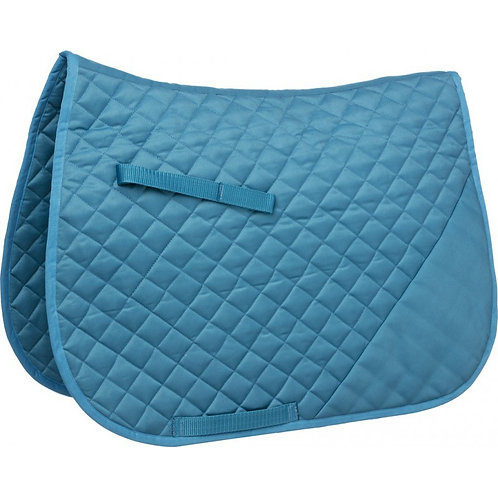 Saddle Cloth with unquilted corner