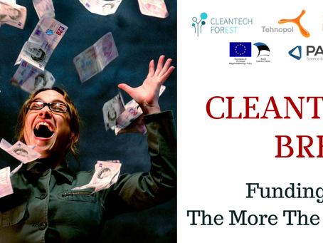 Cleantech Breeze: Funding - The More The Merrier!