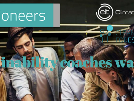 Pioneers into Practice program is hiring innovation and sustainability coaches!