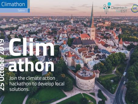 Climathon - Globaalne Kliimahäkaton 2019