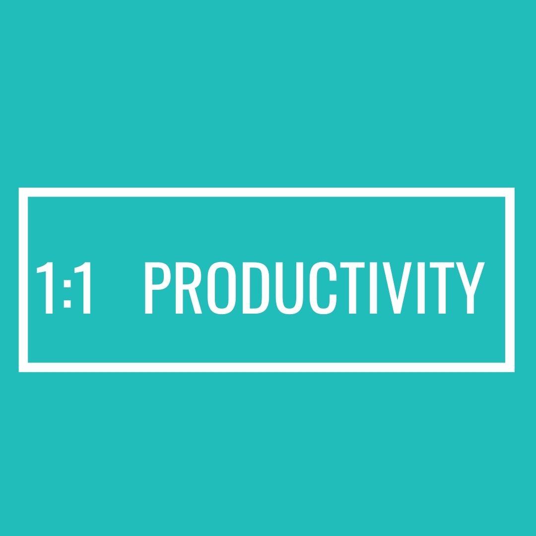3-Month Productivity Accelerator  1:1