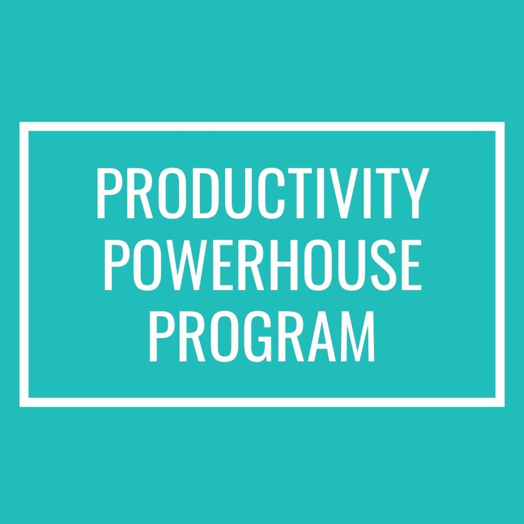 Productivity Powerhouse Program