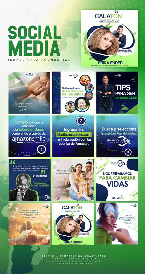 Social Media Ismael Cala Foundation