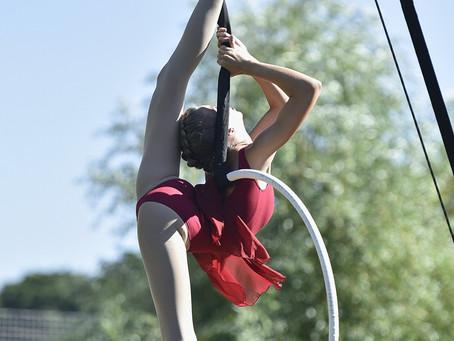 Фестиваль воздушной акробатики в Парке Горького