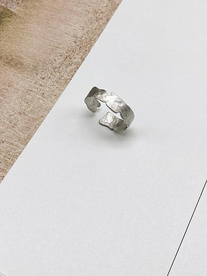 Кольцо с посеребрением