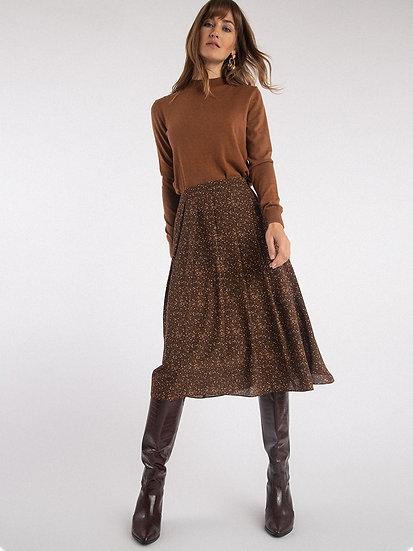 Легкая юбка с цветочным принтом