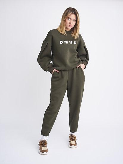 Костюм свитшот DMNN с широкими брюками