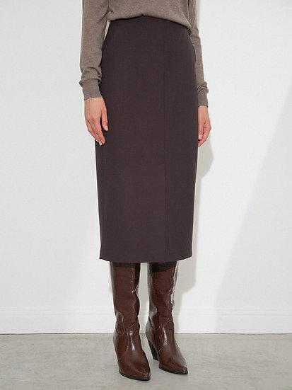 Удлиненная юбка карандаш