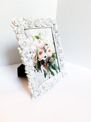 White Rose 4x6 frame