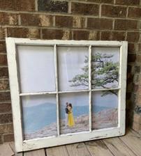 White Frame farmhouse window (8) various size